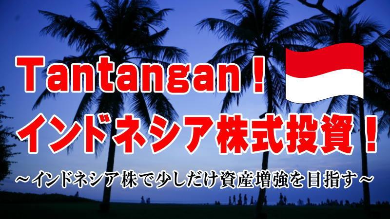 Tantangan!インドネシア株式投資!