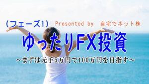 ゆったりFX投資(フェーズ1)
